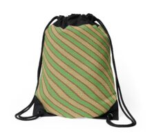 Earth Pixel Design Drawstring Bag