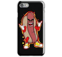 heavy metal hot dog iPhone Case/Skin