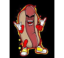 heavy metal hot dog Photographic Print