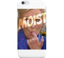 Mary Berry 'Moist' iPhone Case/Skin