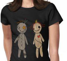 Ragdoll friends Womens Fitted T-Shirt