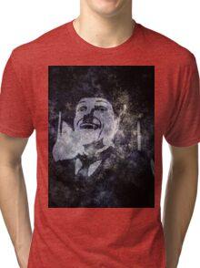 Charlie Chaplins' Ghost Tri-blend T-Shirt