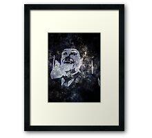 Charlie Chaplins' Ghost Framed Print