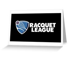 Racquet League Greeting Card