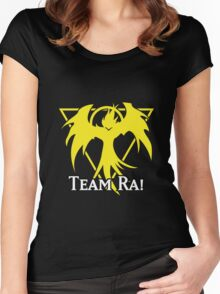 Team Ra - Yu-Gi-Oh! Women's Fitted Scoop T-Shirt
