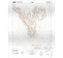 USGS TOPO Map Arizona AZ Childs Mountain 20111125 TM Poster