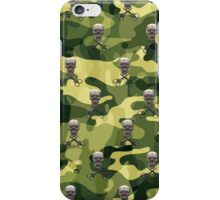 Military Camouflage Background iPhone Case/Skin