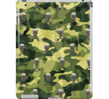 Military Camouflage Background iPad Case/Skin
