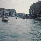 On Vaporetti on Grand Canal Venice Italy 19840727 0002m by Fred Mitchell