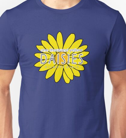Gilmore Girls - One Thousand Yellow Daisies Unisex T-Shirt