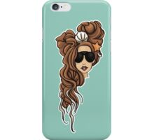 Lady Gaga Seashell Dreads iPhone Case/Skin