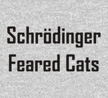 Schrodinger Feared Cats Kids Tee