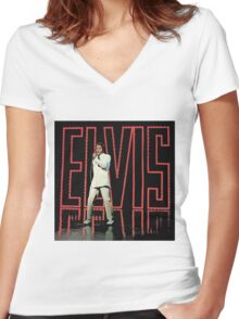 Comeback Special Women's Fitted V-Neck T-Shirt