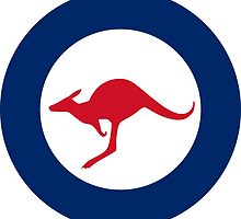 Roundel of Royal Australian Air Force  by abbeyz71