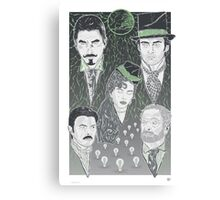 The Prestige - Green Variant Canvas Print
