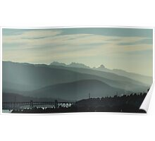 Mountain Forest Poster