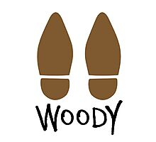 Woody ft. Boots - Toy Story Photographic Print