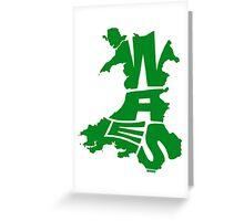Wales Green Greeting Card