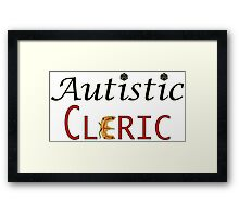 Autistic Cleric Framed Print