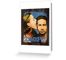 Gillian licks David's face / Schmoopies Greeting Card