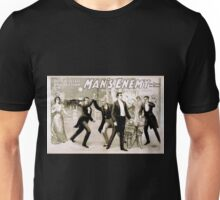 Performing Arts Posters The big scenic production Mans enemy by Chas A Longdon and Eric Hudson now in its 4th year in England 1310 Unisex T-Shirt