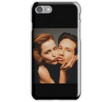 Mulder and Scully Cheek to Cheek iPhone Case/Skin