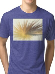 Gold Feather Plumes Tri-blend T-Shirt