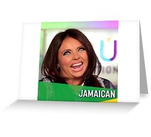 jamaican accent little mix Greeting Card
