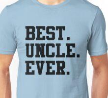 Best Papa Ever black Unisex T-Shirt