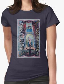 Performing Arts Posters A flying visit by Servais Le Roy 2889 Womens Fitted T-Shirt