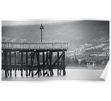 Lonely Pier Poster