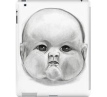 decapitated baby doll head iPad Case/Skin