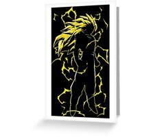 Goku SSJ3 - DBZ Greeting Card