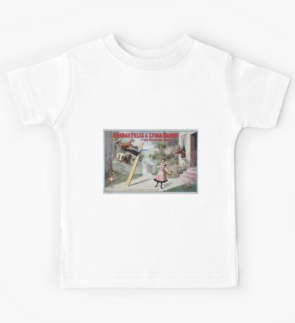 Performing Arts Posters George Felix Lydia Barry in The vaudeville craze 0335 Kids Tee