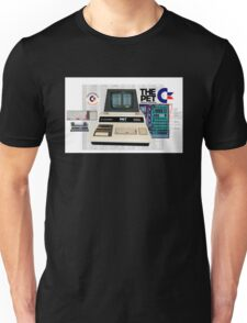 Commodore Pet Computer - Basic By Bill Gates. Unisex T-Shirt
