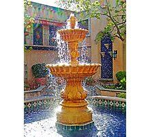 Tlaquepaque Fountain in Sunlight  Photographic Print