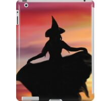 Witch at Sunset iPad Case/Skin