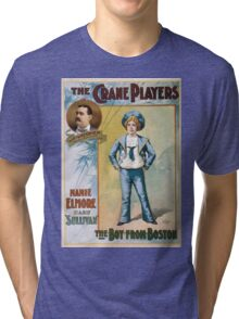 Performing Arts Posters The Crane Players The boy from Boston 1044 Tri-blend T-Shirt