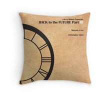 Back to the Future Part III Throw Pillow