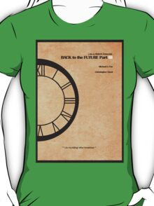 Back to the Future Part III T-Shirt