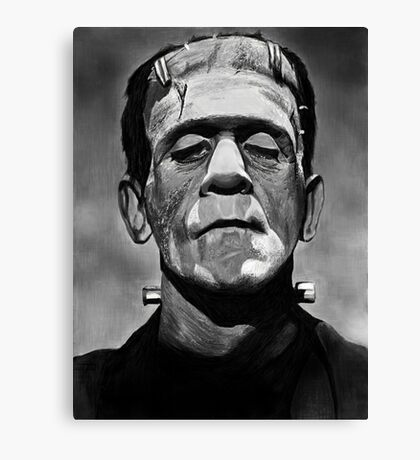 Frankenstein's Monster Canvas Print