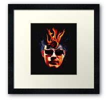 Eldritch burning Framed Print
