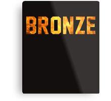 Bronze Tier  Metal Print