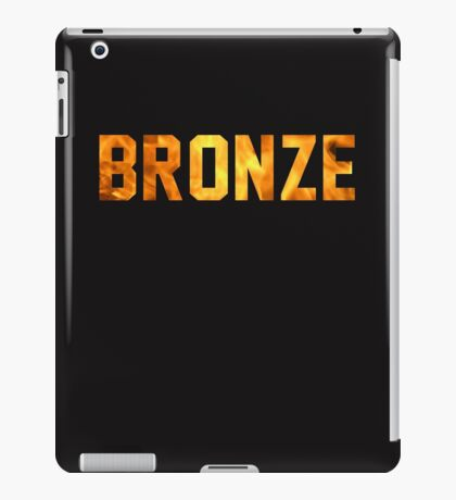 Bronze Tier  iPad Case/Skin
