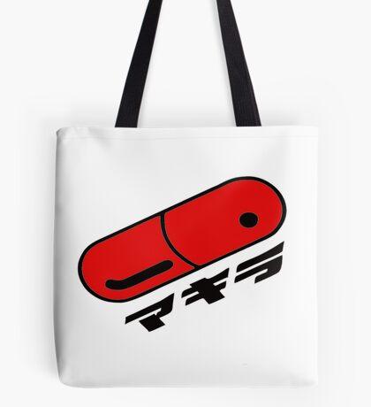 Akira pill red Tote Bag