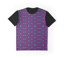 Purple Cell Green Phase Graphic T-Shirt