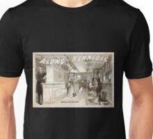 Performing Arts Posters Reno Curtis successful comedy Along the Kennebec a New England story laughingly told 1029 Unisex T-Shirt