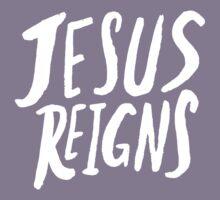 Jesus Reigns II Kids Tee