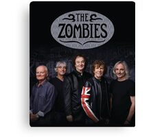 the zombies band tour 2016 Canvas Print