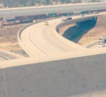 Freeway corona Sticker